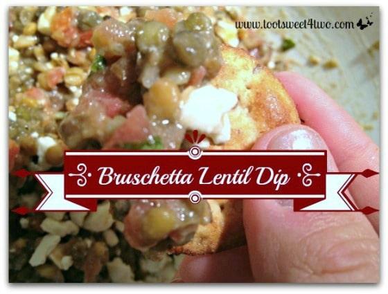 Dip - Bruschetta Lentil Dip - 21 Great Dips