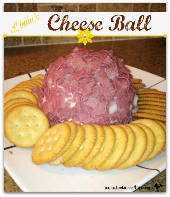 Dip - Linda's Cheese Ball - 21 Great Dips