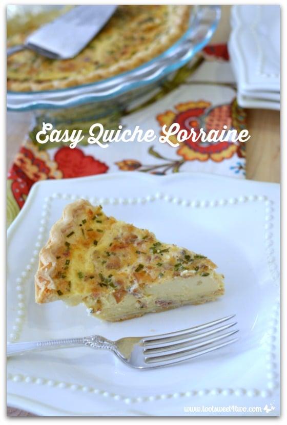 Easy Quiche Lorraine - Pic 3