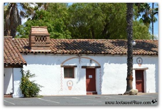 Front of Mission San Antonio de Pala