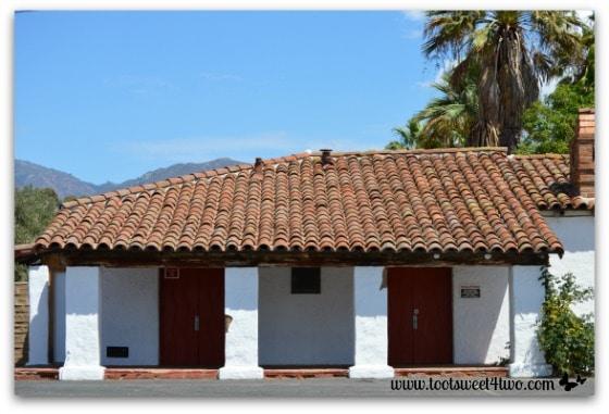 Left side of Mission San Antonio de Pala