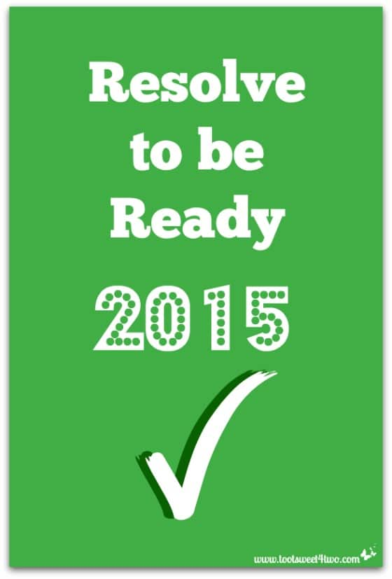 Resolve to be Ready 2015 cover