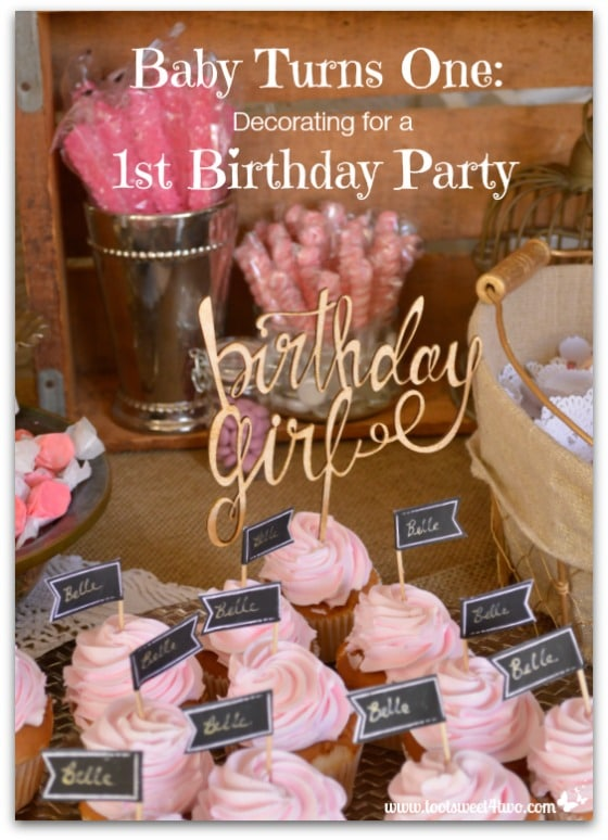 Baby Turns One Decorating for a 1st Birthday Party cover