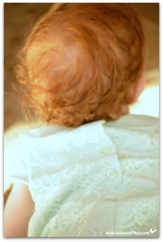 Baby with pretty red hair - Baby Turns One