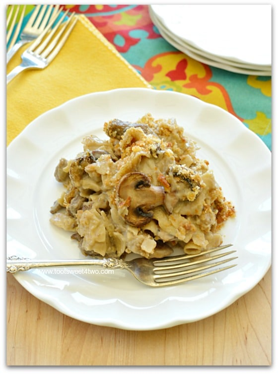 Beefy Mushroom Noodle Bake Pic 4