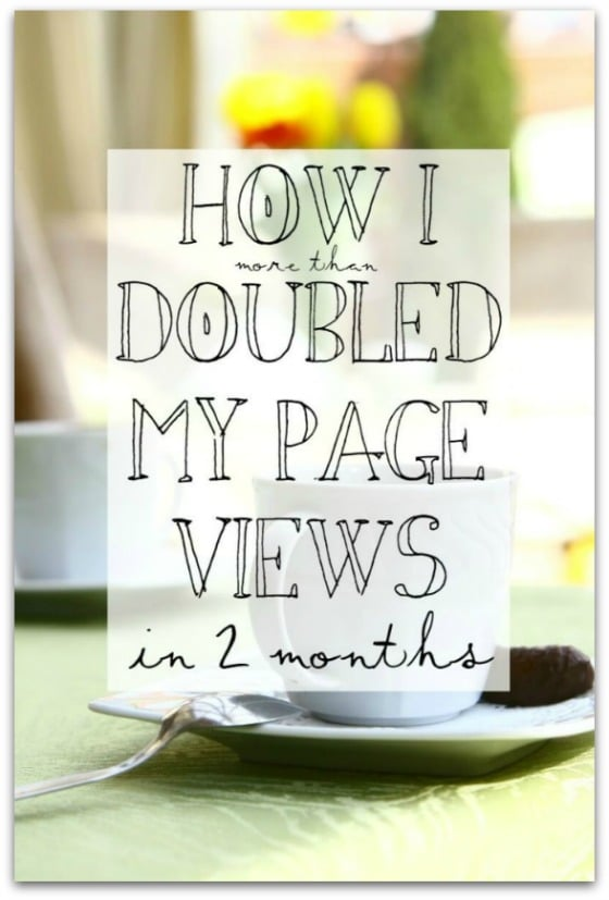 Budget Girl - How I More Than Doubled My Page Views in 2 Months