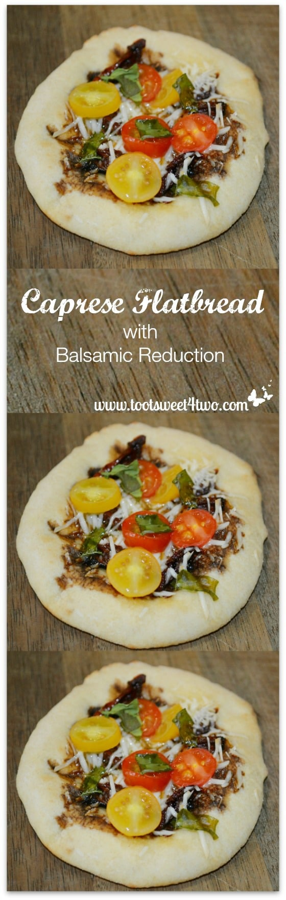 Caprese Flatbread with Balsamic Reduction Pic 5