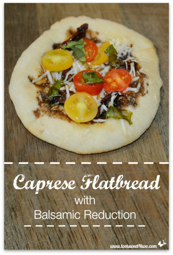 Caprese Flatbread with Balsamic Reduction cover