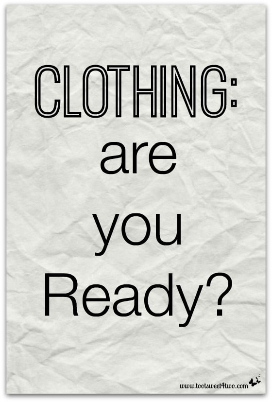 Clothing are you Ready cover