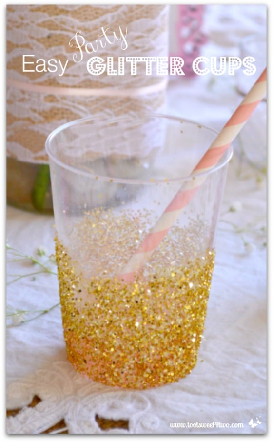Easy Party Glitter Cups cover