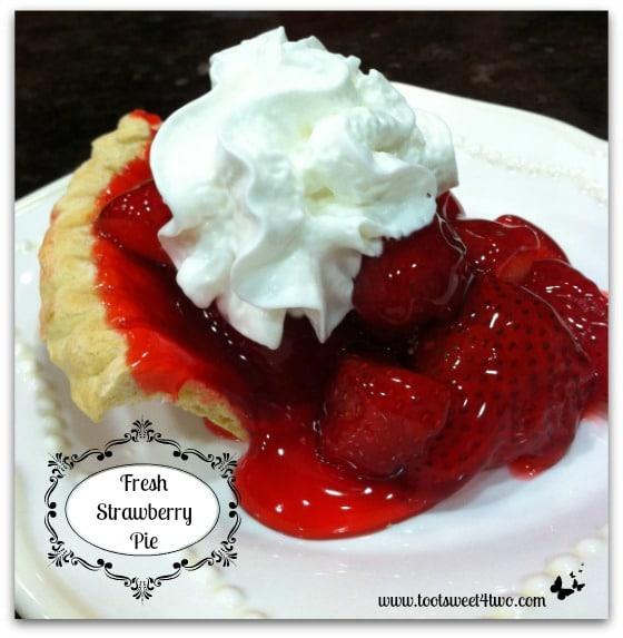 Fresh Strawberry Pie cover