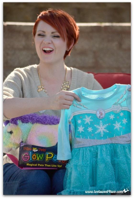 Frozen dress - Baby Turns One