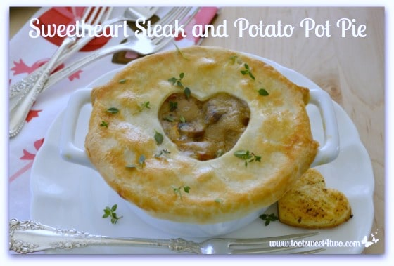 Sweetheart Steak and Potato Pot Pie Pic 2