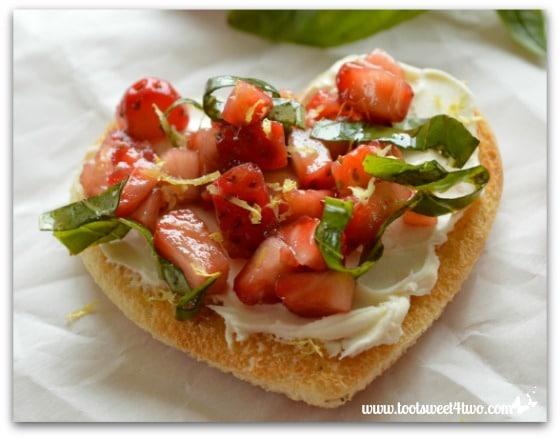 Sweetheart Strawberry Crostini Pic 3