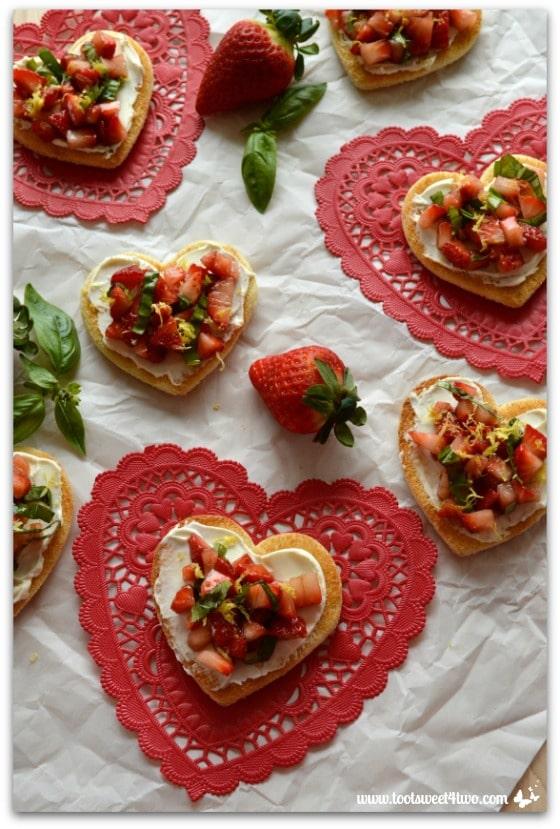 Sweetheart Strawberry Crostini Pic 4