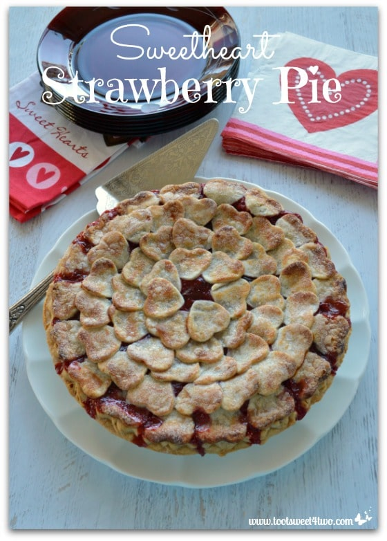 Sweetheart Strawberry Pie cover