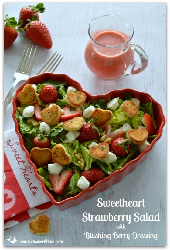 Sweetheart Strawberry Salad Pic 1