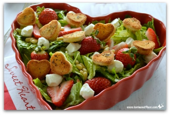 Sweetheart Strawberry Salad Pic 2