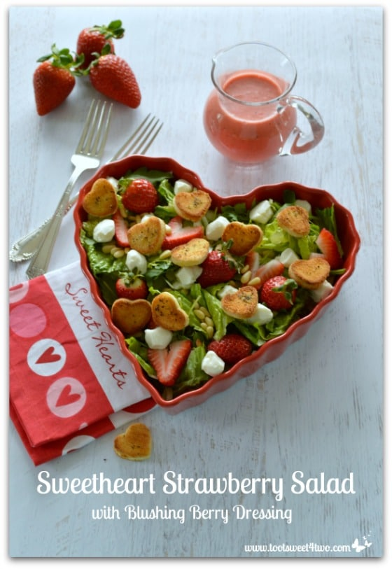 Sweetheart Strawberry Salad Pic 5