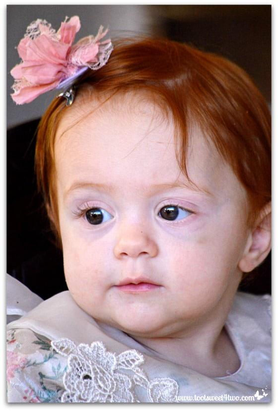 Birthday girl Princess Sweet Cheeks