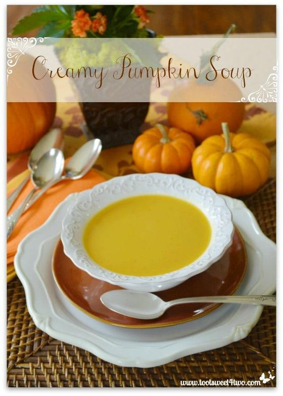 Creamy Pumpkin Soup - Pot O'Gold