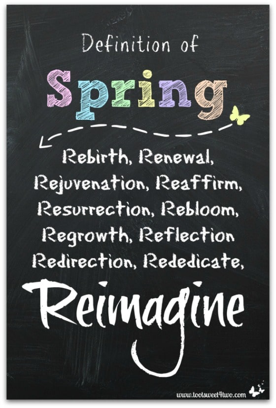 Definition of Spring - 10 FREE Spring and Easter Printables
