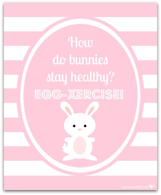 Egg-xercise - 10 FREE Spring and Easter Printables