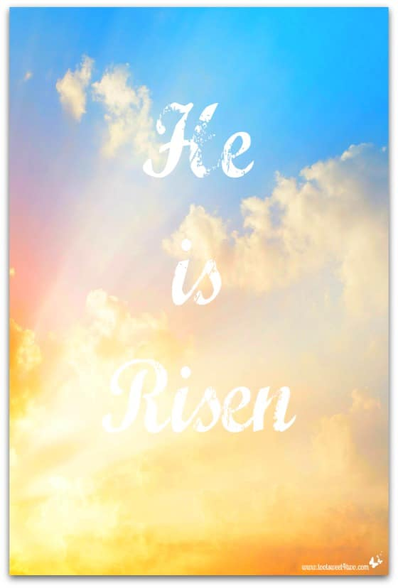 He is Risen - 10 FREE Spring and Easter Printables