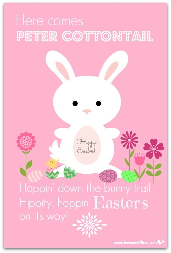 Here Comes Peter Cottontail - A PicMonkey Tutorial - Pic 101
