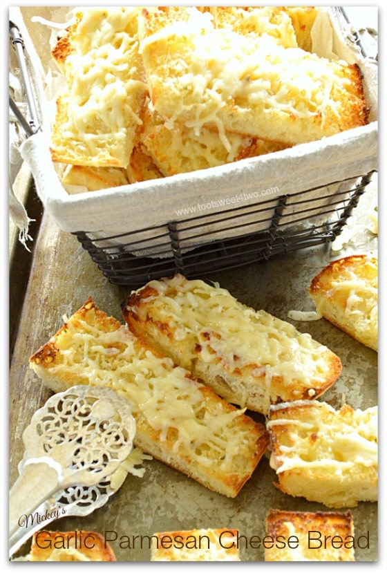 Mickey's Garlic Parmesan Cheese Bread Pic 2