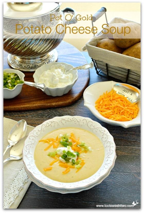 Pot O' Gold Potato Cheese Soup Pic 1