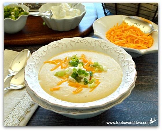 Pot O'Gold Potato Cheese Soup Pic 2