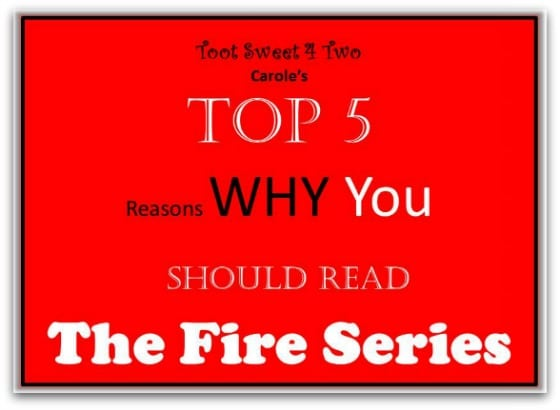 Top 5 Reasons to read The Fire Series - Any Way the Wind Blows