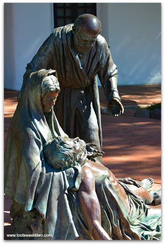 The Pieta at San Diego Mission de Acala in San Diego, CA