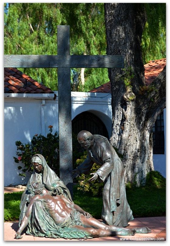 The Pieta at San Diego Mission de Acala