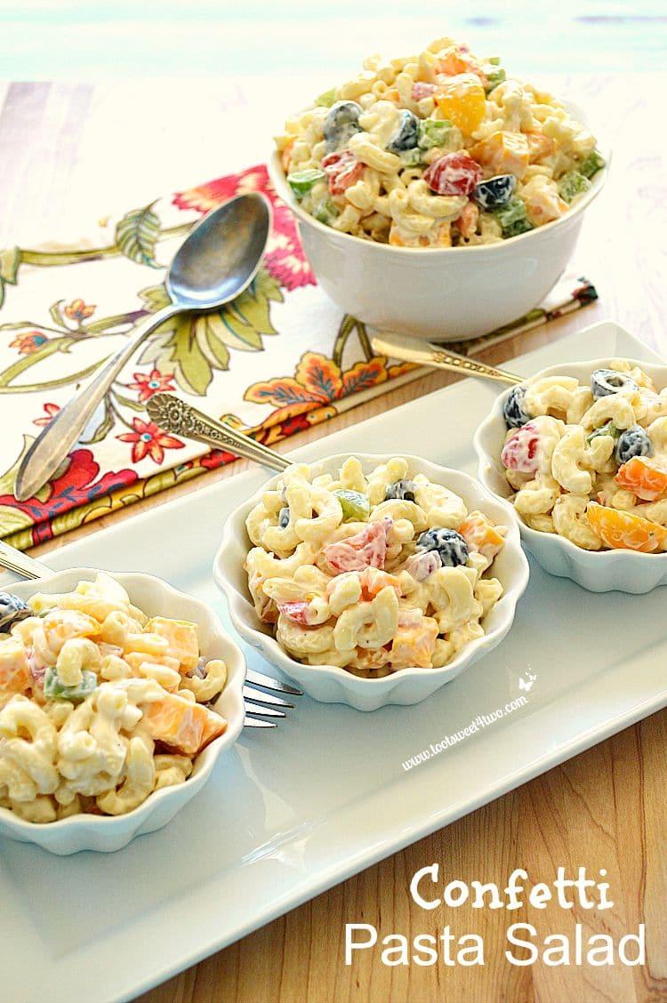 Confetti Pasta Salad 20150921