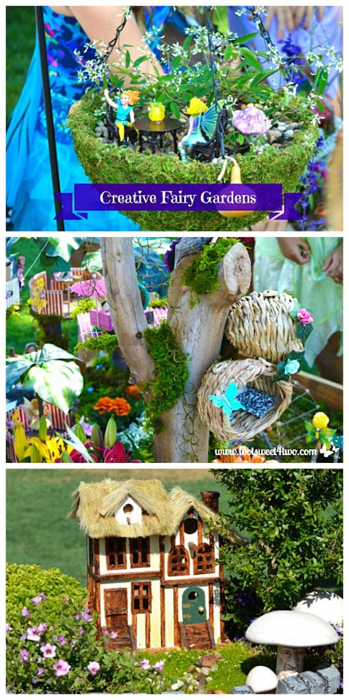Creative Fairy Gardens collage