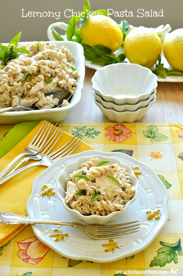 Lemony Chicken Pasta Salad - Pic 1