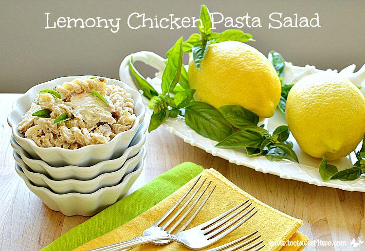 Lemony Chicken Pasta Salad - Pic 3