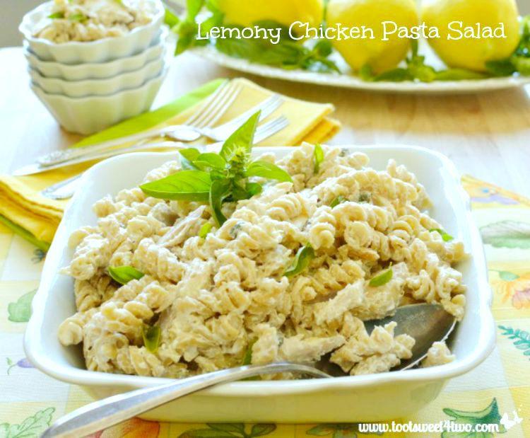 Lemony Chicken Pasta Salad - Pic 4