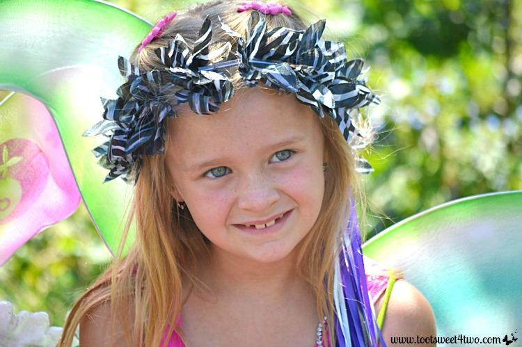 Princess P as a fairy