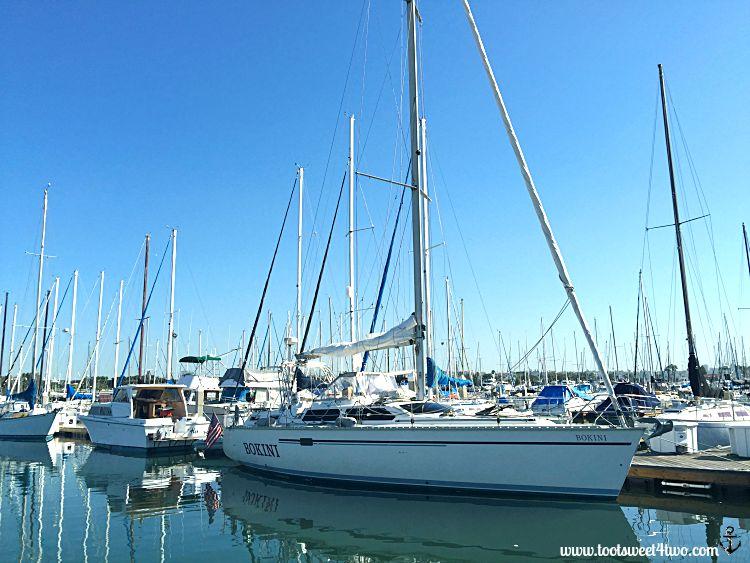 Sailboat Bokini, San Diego