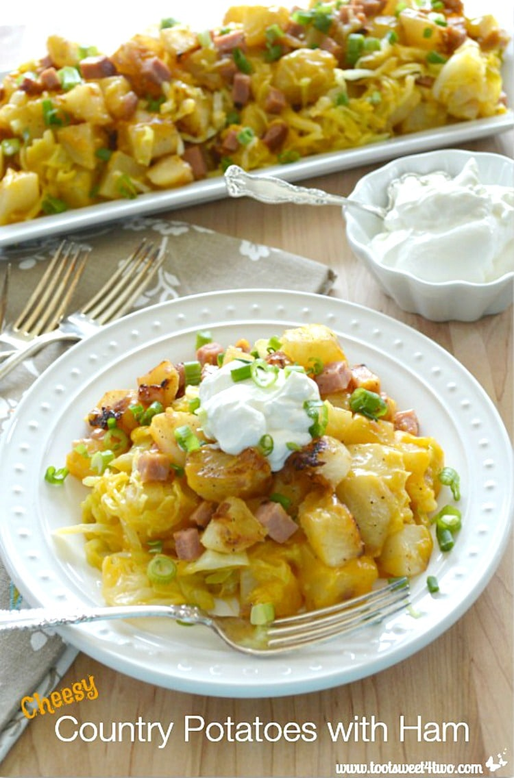 Cheesy Country Potatoes with Ham Pic1A
