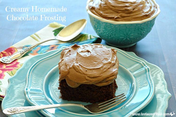 Creamy Homemade Chocolate Frosting Photo 2