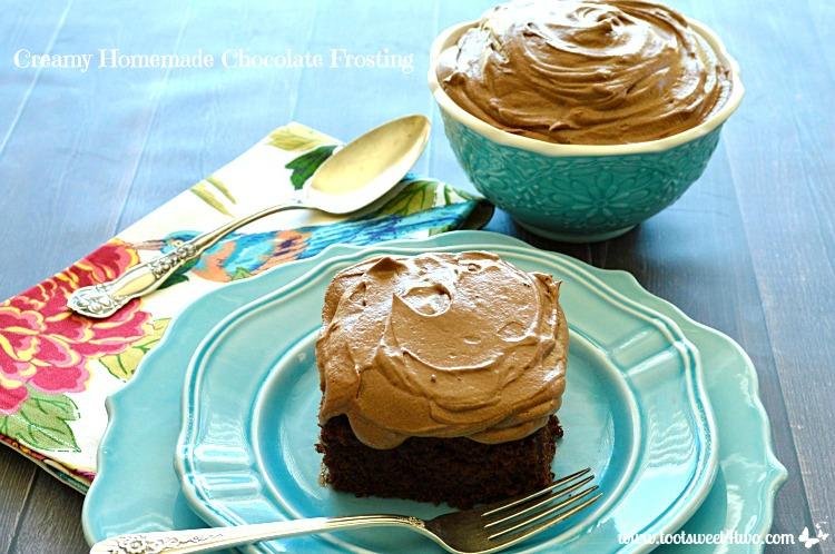 Creamy Homemade Chocolate Frosting Photo 4