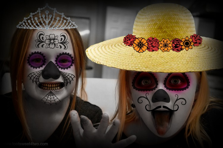 Day of the Dead Princesses