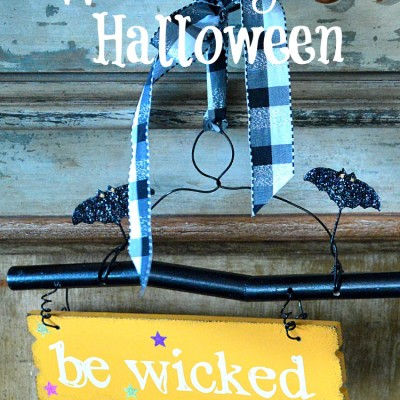 Decorating for a Wicked Good Halloween