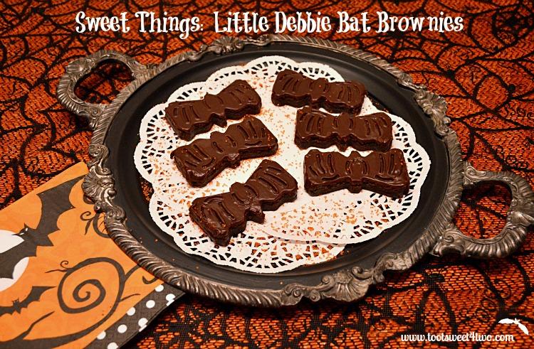 Little Debbie Bat Brownies unwrapped
