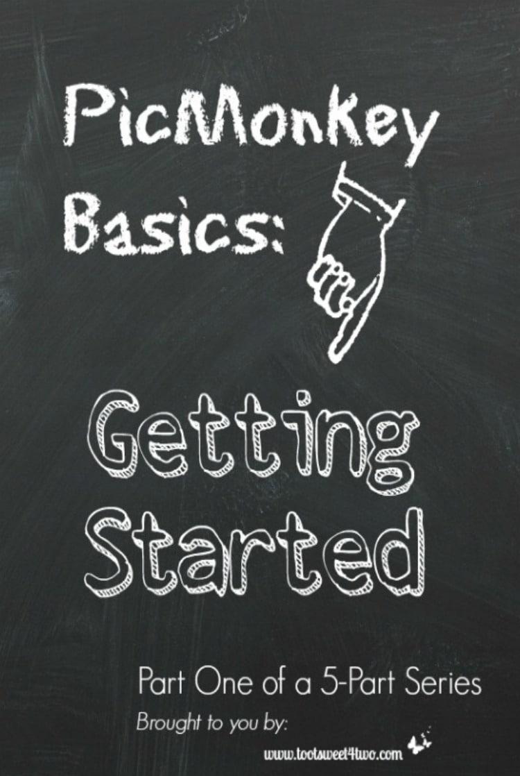 PicMonkey Basics - Getting Started 750x1118