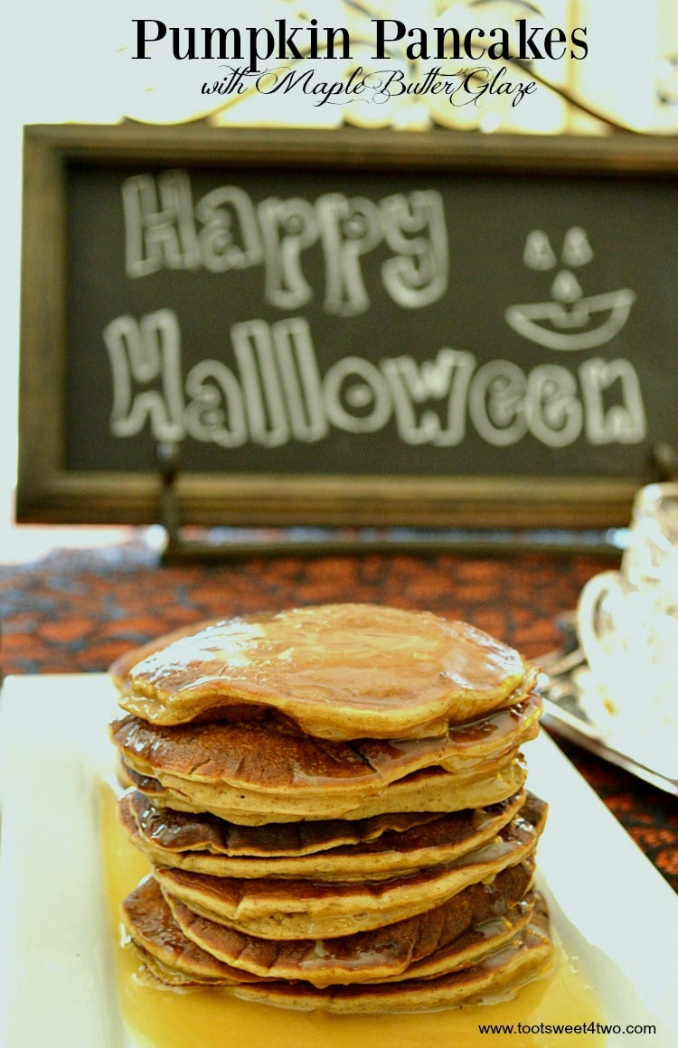 Pumpkin Pancakes with Maple Butter Glaze cover